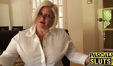 Madre video casalinghi sex in calze nere scopata con suo figlio